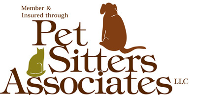 Insured through the Pet Sitters Association